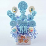 Cuddle Up [Blue] Lollipop Bouquet